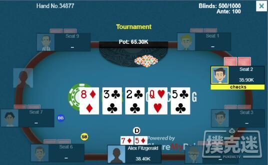 蜗牛扑克:将常客玩家逼至绝境