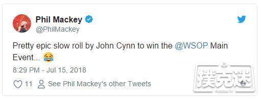 """蜗牛扑克:Tony Miles 为指控John Cynn""""Slow-Roll""""道歉"""