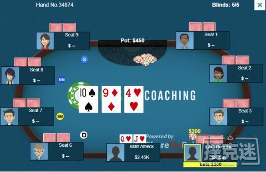 蜗牛扑克:一个有趣的九人底池局面