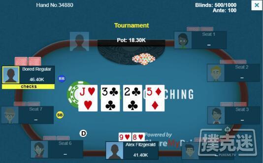 蜗牛扑克:转牌圈是否继续下注?