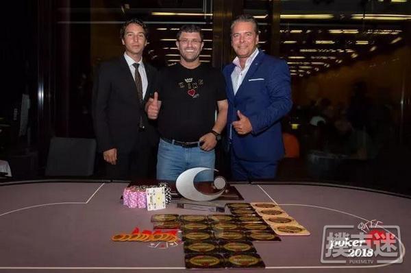 蜗牛扑克:帝王娱乐场老板Leon Tsoukernik取得EM超级豪客赛冠军,奖金€370,000