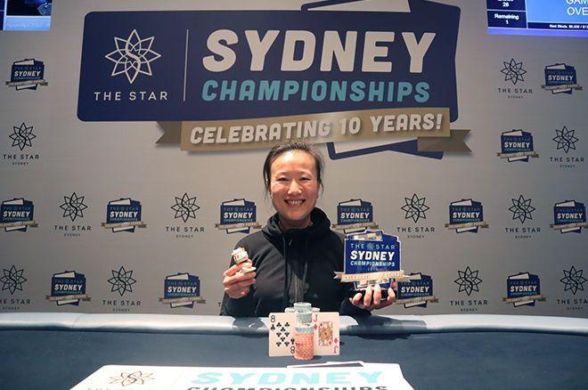 蜗牛扑克:Sosia Jiang赢得悉尼锦标赛豪客赛冠军,奖金A6,000