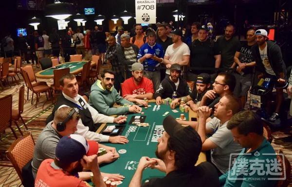 【蜗牛扑克】WSOP牌局分析:该全下时别做小的加注