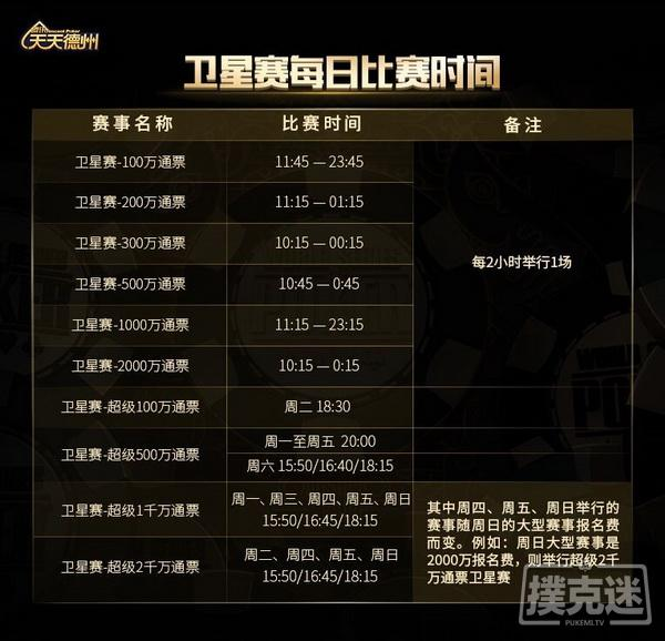 蜗牛扑克:周末赛事精彩不断,最新WSOP CHINA赛程出炉!