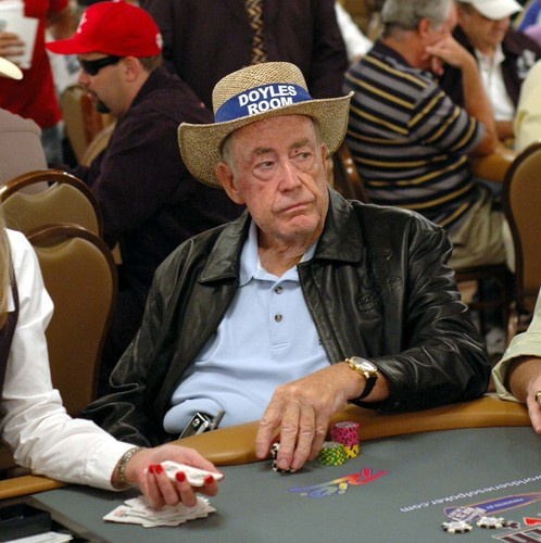 蜗牛扑克:Doyle Brunson用在Bobby扑克室赢得的奖金买了一部新车