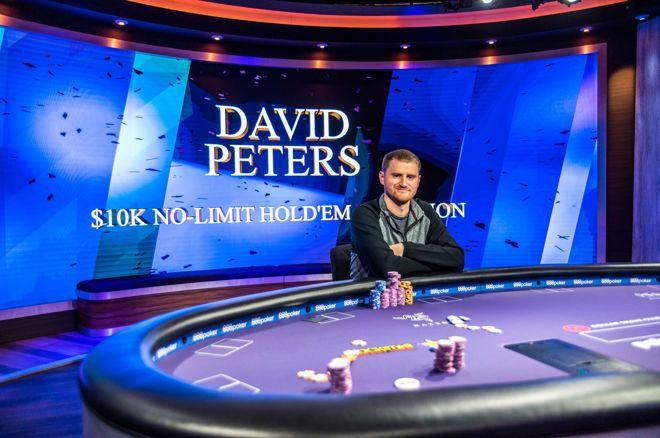 蜗牛扑克:David Peters夺冠2018扑克大师赛第一项赛事,奖金3,200