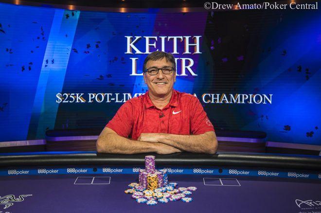 蜗牛扑克:Keith Lehr取得扑克大师赛第三项赛事,000底池限注奥马哈冠军