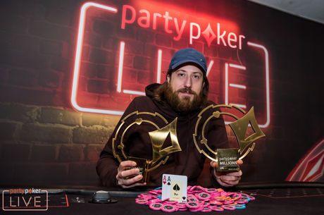 蜗牛扑克:O'Dwyer再次取得partypoker LIVE百万赛事英国站豪客赛冠军!