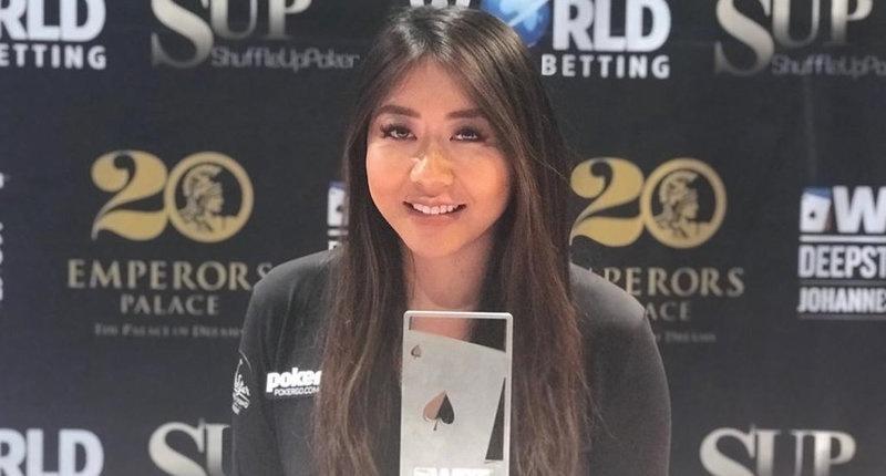蜗牛扑克:Maria Ho赢得WPT巡回赛约翰内斯堡站深筹码锦标赛冠军