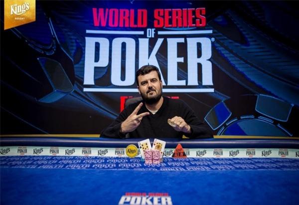蜗牛扑克:WSOPE:Timur Margolin赢得第五项赛事冠军