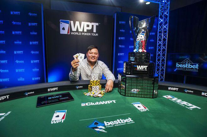 蜗牛扑克:Tony Tran赢得WPT bestbet Bounty Scramble冠军!!!