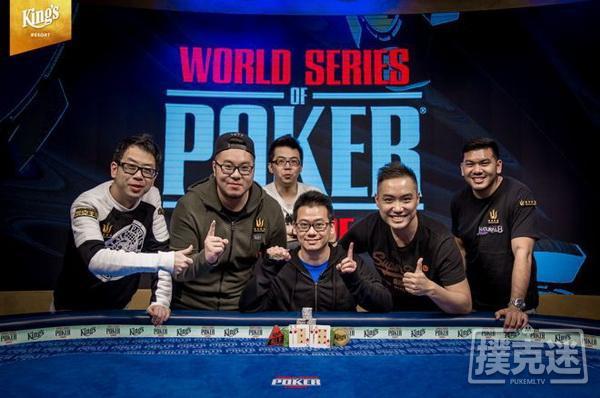 蜗牛扑克:WSOPE第7条金手链归属中国!Anson Tsang赢得PLO冠军