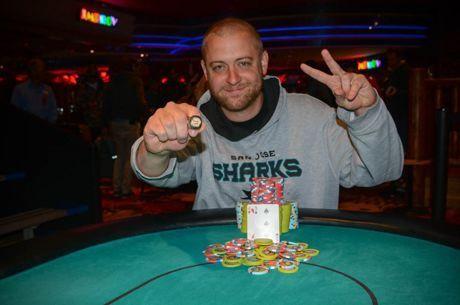 蜗牛扑克:汉堡帅哥Scott Sanders一周之内斩获两场WSOPC赛事冠军!
