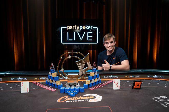 蜗牛扑克:Filipe Oliveira赢的加勒比海扑克盛会,300主赛事冠军!