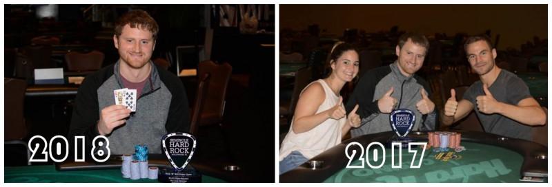 蜗牛扑克:David Peters连续两年取得同一场摇滚扑克公开赛冠军