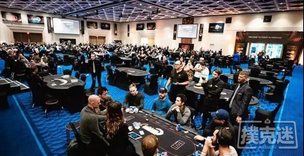 蜗牛扑克:保底00万的扑克派对主赛报名人少超正EV