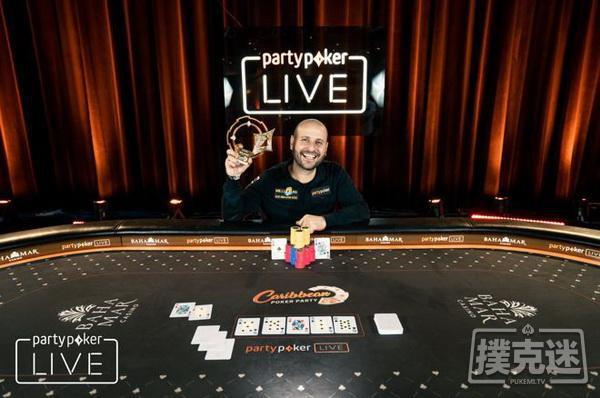 蜗牛扑克:Roberto Romanello斩获,300豪客赛冠军