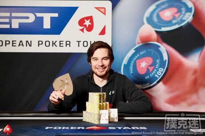 蜗牛扑克:Corentin Ropert赢得第二场€25,000单天豪客赛冠军