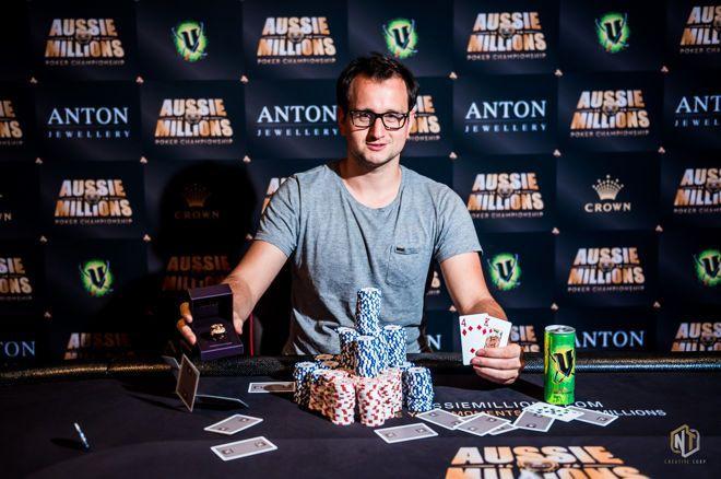 蜗牛扑克:Rainer Kempe斩获澳洲百万赛事AU,000挑战赛冠军
