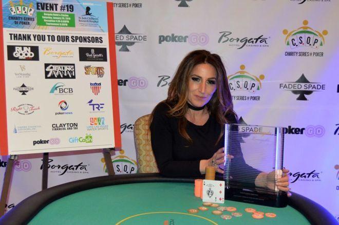 蜗牛扑克:Kujdes Gagliardi赢得慈善赛冠军,妹妹赢得女子赛冠军