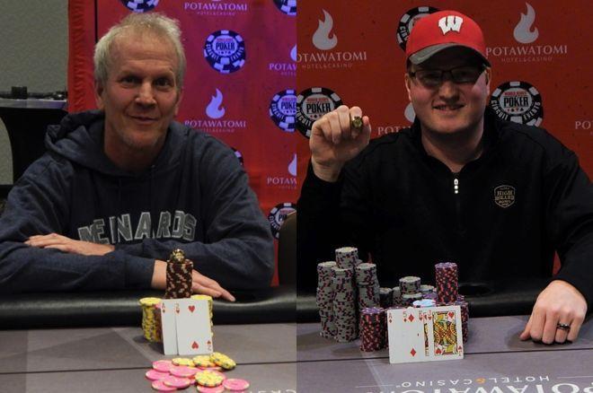 蜗牛扑克:父子Brett和Josh Reichard在WSOPC伯塔瓦托米站中分别斩获冠军!