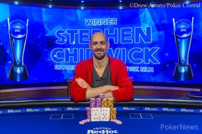 蜗牛扑克:卫冕冠军Stephen Chidwick斩获USPO2首场胜利,获得奖金6,000