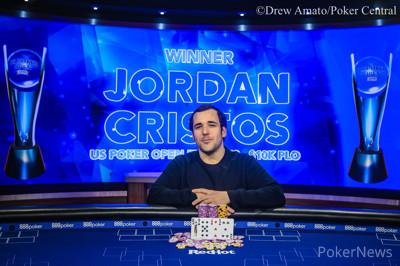 蜗牛扑克:Jordan Cristos斩获2019 USPO第二项赛事K PLO冠军,奖金9,200