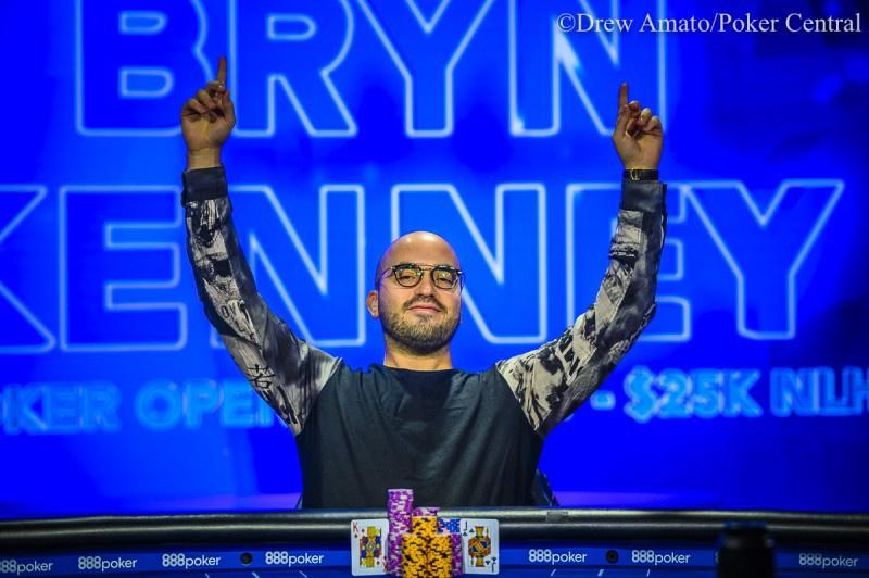 蜗牛扑克:Bryn Kenney取得2019 USPO第7项赛事K NLH冠军,奖金0,000