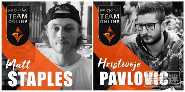 蜗牛扑克:Matt Staples成为Partypoker线上战队签约玩家