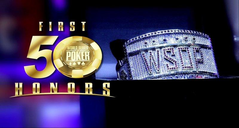 """蜗牛扑克:WSOP宣布将举办""""50华诞""""荣誉表彰大会"""