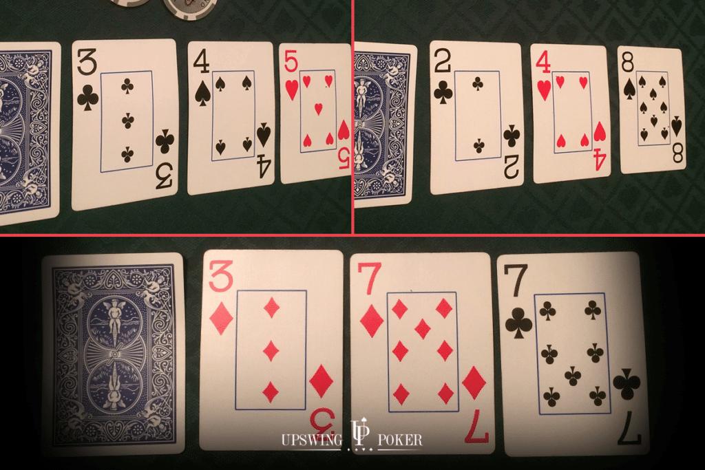 蜗牛扑克:在不利位置时,你如何在小牌翻牌面获胜?