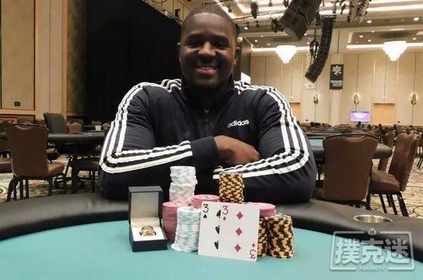 蜗牛扑克:Bryon Johnson获得WSOPC滚石俱乐部赛事冠军