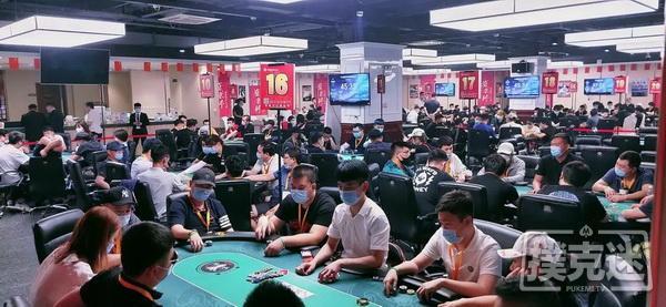 蜗牛扑克:2020盛京杯第五季 | 主赛事火热开启 A组谭清龙以312500记分牌率先领跑