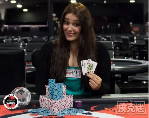 蜗牛扑克:Alyssa MacDonald进入1万美元买入单挑赛四强