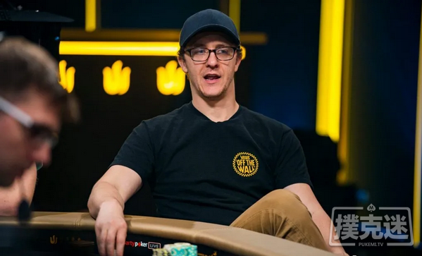 蜗牛扑克:Kahle Burns在WSOP主赛事中保持筹码领先