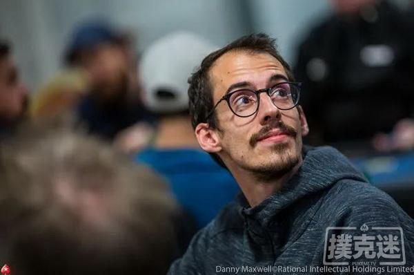 蜗牛扑克:Pascal Hartmann领跑WPTWOC 豪客赛