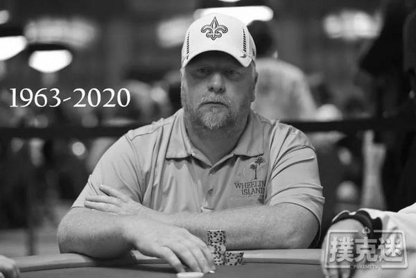 蜗牛扑克:前WSOP主赛事亚军Darvin Moon去世,享年56岁