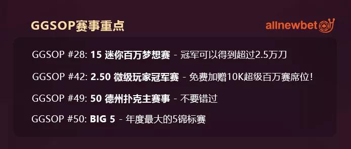【蜗牛扑克】锦标赛制胜秘诀~微型赛事也能成就百万梦想!