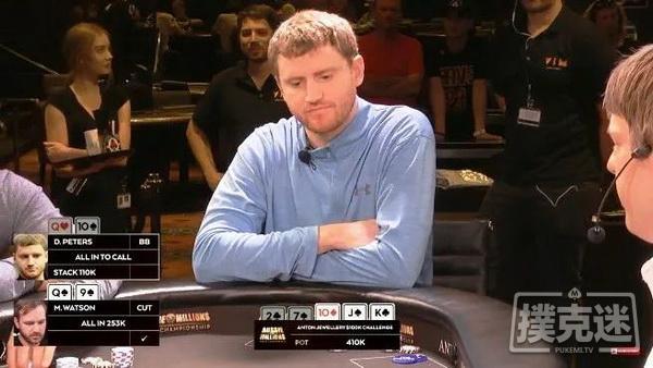 【蜗牛扑克】买入10万刀的比赛他用对10跟三条街的做法没毛病