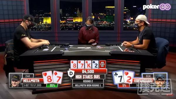 """蜗牛扑克:事不过三,""""魔术师""""第三次向Hellmuth发起挑战"""