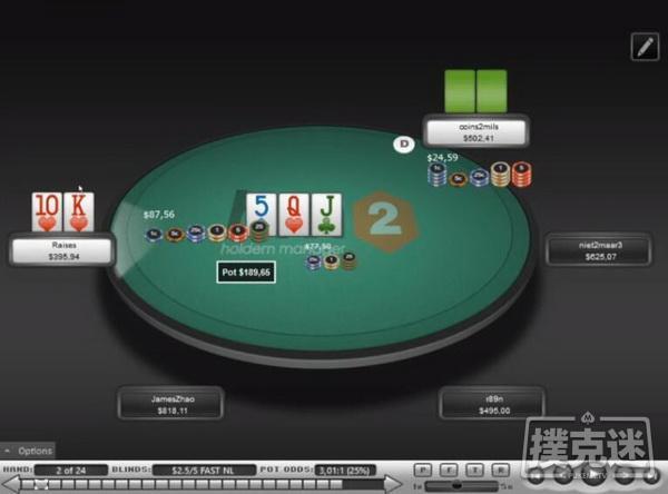 【蜗牛扑克】德州扑克帮助你在跟注3-bet后赢下底池的三个策略