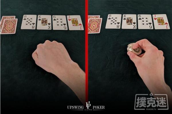 【蜗牛扑克】如果翻前加注者在翻牌圈随后check, 你在转牌圈应该如何行动?