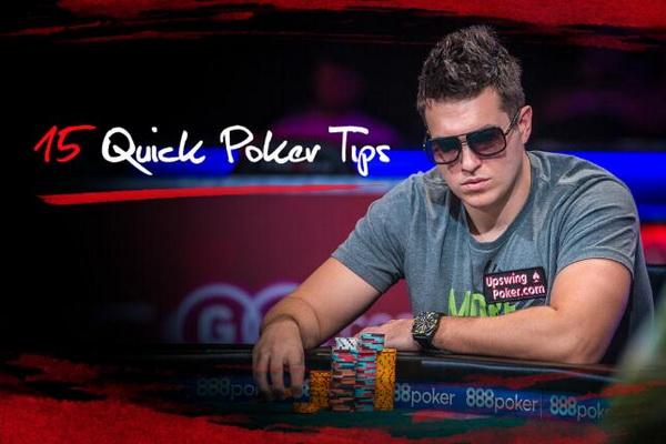 【蜗牛扑克】德州扑克帮助你成为一名更好牌手的15个简单技巧
