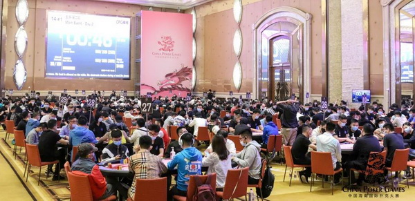 蜗牛扑克:CPG横琴站 | 入围圈诞生!纪夏青以230W记分牌成为主赛领先者!