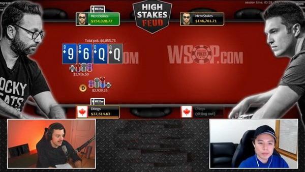 蜗牛扑克:扑克职业玩家Daniel Negreanu比赛输给Doug Polk
