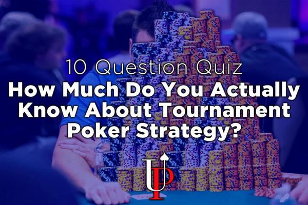【蜗牛扑克】德州扑克你对锦标赛策略究竟有多了解?