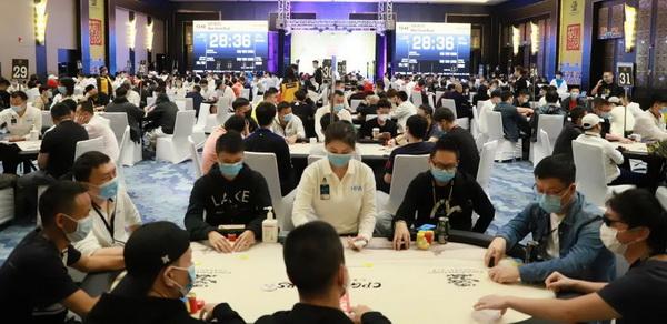 蜗牛扑克:2020CPG三亚大师赛 | 主赛入围圈定为63人,翟一夫成为全场CL!