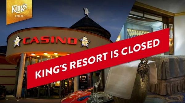 蜗牛扑克:在WSOP主赛事举行三天后,国王娱乐场又被迫关闭。