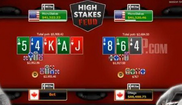 蜗牛扑克:恩怨赛回归,丹牛取得一场小胜