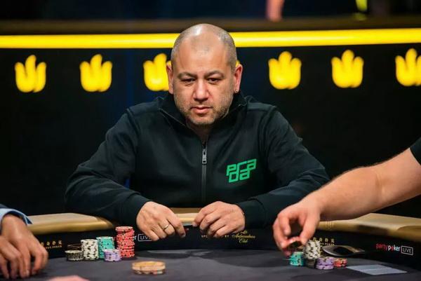 蜗牛扑克:英国大佬Rob Yong损失120w美金